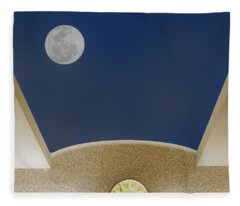 Moon Roof Fleece Blanket