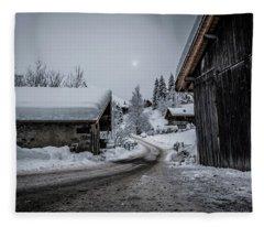Moon Walk- Fleece Blanket