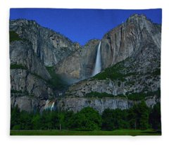 Moonbow Yosemite Falls Fleece Blanket