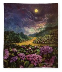 Moonlight Memories Fleece Blanket