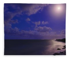 Moonlight Sonata Fleece Blanket