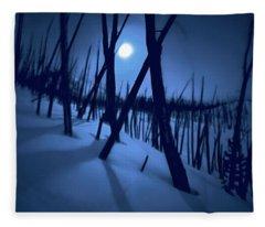 Moonshadows Fleece Blanket