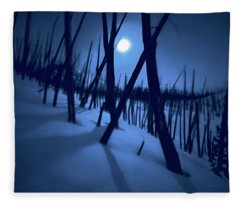Moonshadows Fleece Blanket