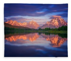 Moran Cloudcap Fleece Blanket