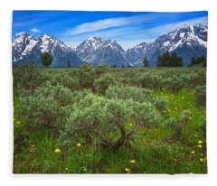 Moran Meadows Fleece Blanket