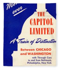 More Than Ever, The Capitol Limited Fleece Blanket