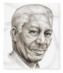 Morgan Freeman Fleece Blanket