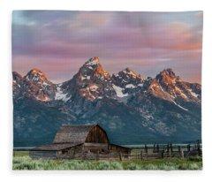 Mormon Row Fleece Blanket