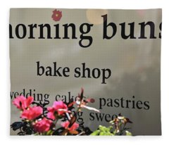 Morning Buns Bake Shop Fleece Blanket