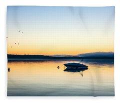 Morning Calm Fleece Blanket