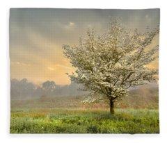 Morning Celebration Fleece Blanket