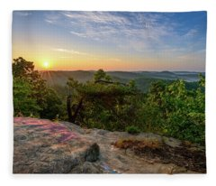 Morning Colors Fleece Blanket