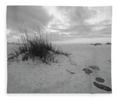 Morning Dunes  Fleece Blanket
