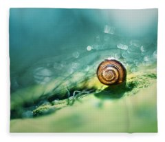 Morning Glare Fleece Blanket
