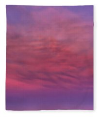 Morning Glow Indiana Dawn Fleece Blanket