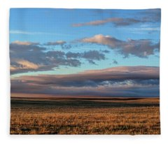 Morning Grace Fleece Blanket