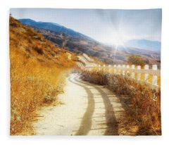 Morning Hike Fleece Blanket