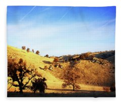 Morning In O'neil Canyon Fleece Blanket