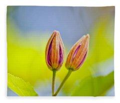 Morning Joy Fleece Blanket