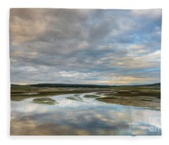 Morning Serenity Fleece Blanket