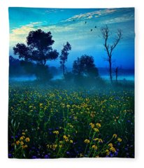 Morning Song Fleece Blanket