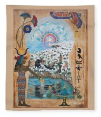 Blaa Kattproduksjoner            Bright  Morning Star Fleece Blanket