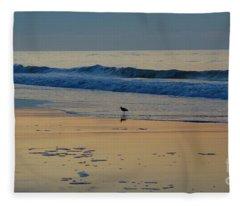 Morning Stroll Fleece Blanket
