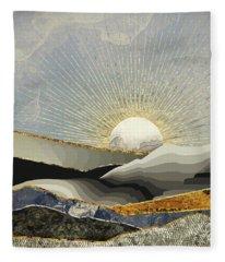 Landscape Digital Art Fleece Blankets