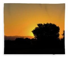 Morning Sunshine Fleece Blanket