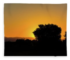 Morning Sunshine Fleece Blanket