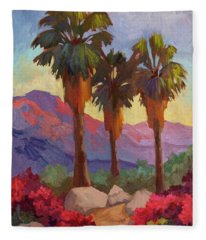 Morning Walk Fleece Blanket