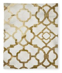 Moroccan Gold I Fleece Blanket