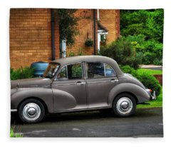Morris Minor Fleece Blanket
