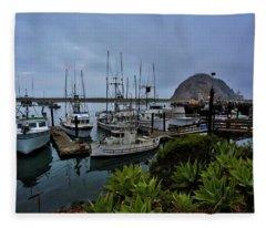 Morro Bay Fleece Blanket