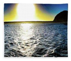 Morro Rock Fleece Blanket