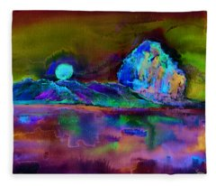 Morro Rock Fleece Blanket