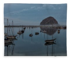 Morrow Bay Reflection Fleece Blanket