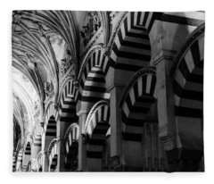 Mosque Cathedral Of Cordoba 6 Fleece Blanket