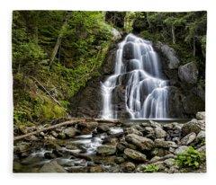 Moss Glen Falls Fleece Blanket