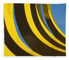 Mostly Parabolic Fleece Blanket