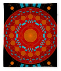 Mother Color Fleece Blanket