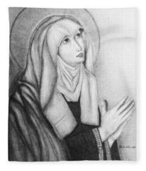 Mother Of Sorrows Version1 Fleece Blanket