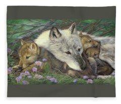 Mother's Comfort Fleece Blanket