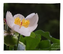 Mothers Day Peony Fleece Blanket
