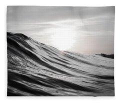 Motion Of Water Fleece Blanket