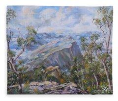 Mount Abrupt Grampians Victoria Fleece Blanket