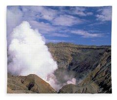Mount Aso Fleece Blanket
