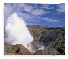 Mount Aso Fleece Blanket