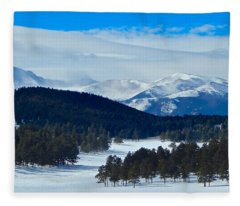 Buffalo Park Fleece Blanket