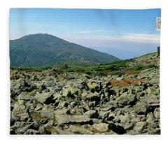Mount Jefferson - White Mountains New Hampshire  Fleece Blanket
